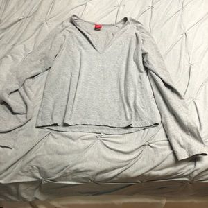 Grey blouse Large